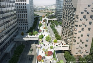Seoul Station Overpass to Connect Daewoo Foundation and Four Nearby Buildings