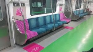 Seoul subway to apply new seat design for pregnant women