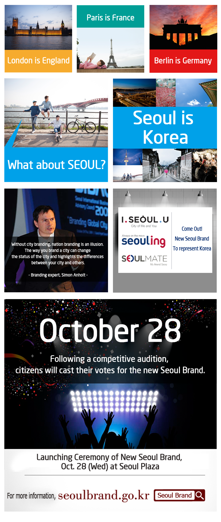 Seoul Brand Card News – Cities