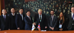 Seoul and London forge friendly-city ties