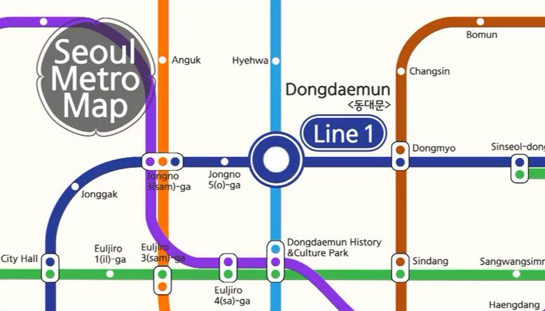 Seoul Metro Tour – Dongdaemun
