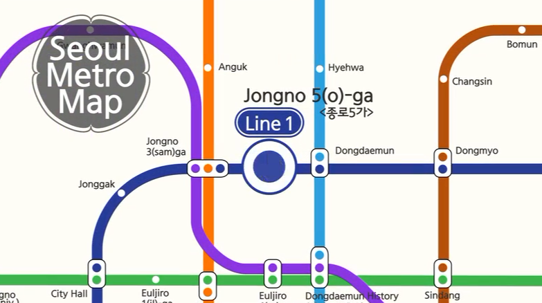 Seoul Metro Tour – Jongno 5(o)-ga