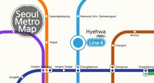 Seoul Metro Tour – Hyehwa