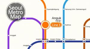 Seoul Metro Tour – Anguk