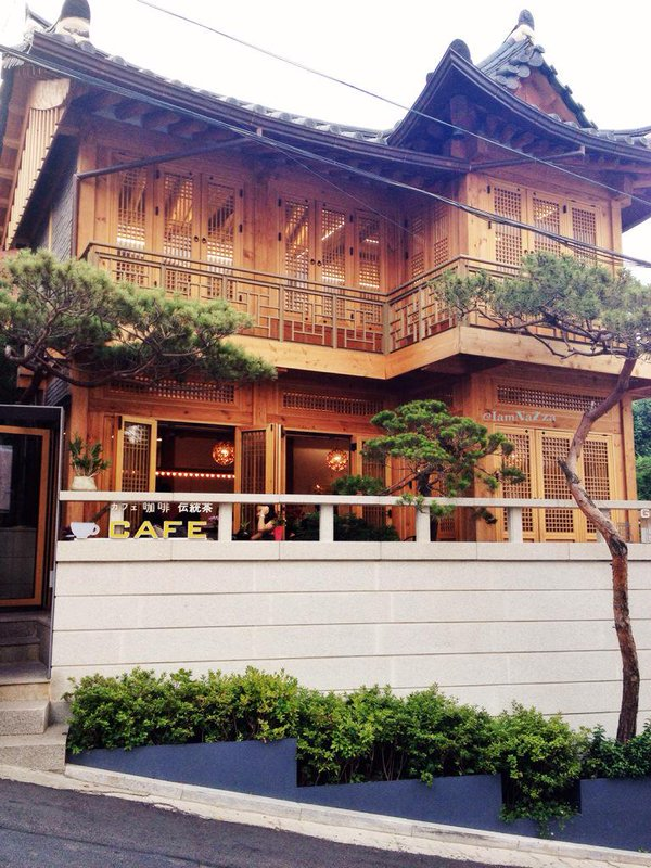 Seoul 's hidden attraction : Hanok Cafe