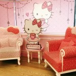 Hello Kitty Cafe in Hongdae