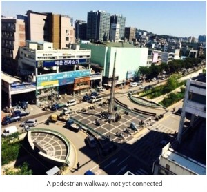The New Face of a Decrepit Building: The Story of Urban Renewal at Sewoon Shopping Mall