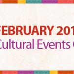 February cultural event calendar