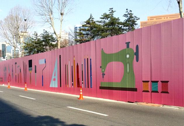 工地围挡绿色_合肥在建工地围挡春节前披上绿衣三月底前全