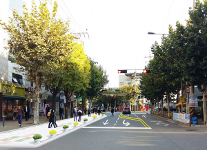 The SMG to Widen Neighborhood Sidewalks