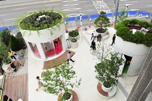 """Seoul Station 7017 Info Garden"" Open to the Public"
