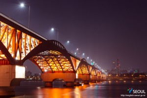 Night View of the Hangang Bridge