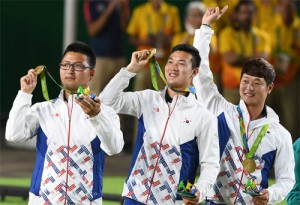 Rio 2016: Men's Archery Team Wins Gold! Hard Work at the Gocheok Sky Dome Finally Pays Off