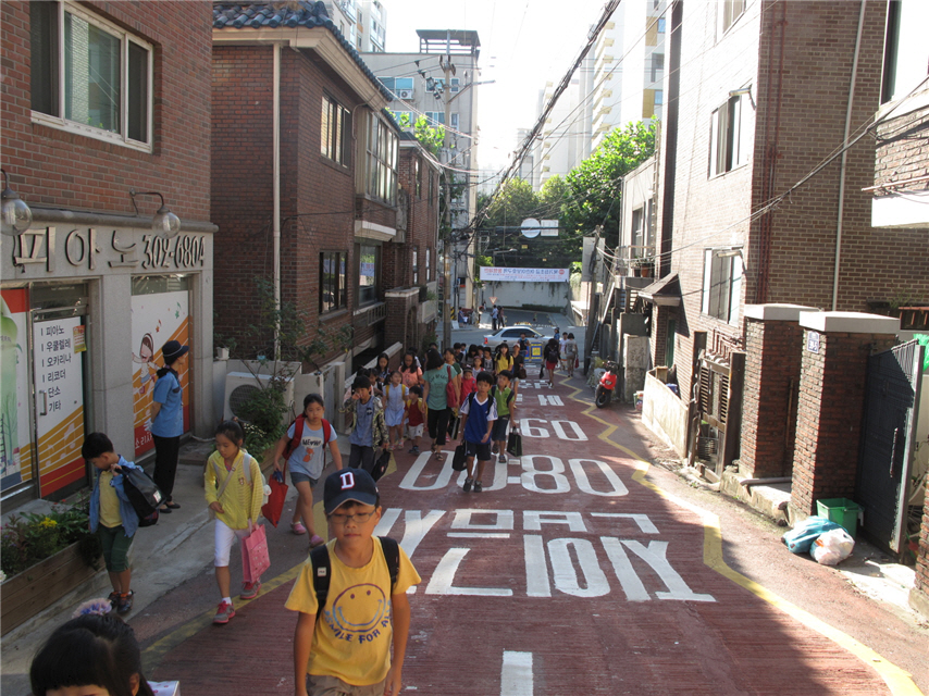 Walkable City, Seoul