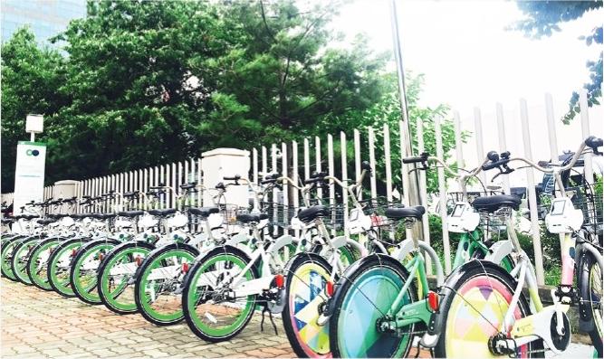 Vélo de Séoul 'Ddareungi'