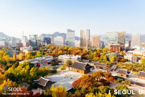 AUTUMN IN DOWNTOWN SEOUL