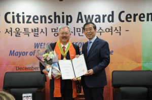 Mayor of San Francisco Edwin Lee Conferred 'Honorary Citizenship of Seoul'