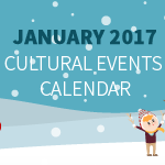 January 2017 Cultural Events Calendar