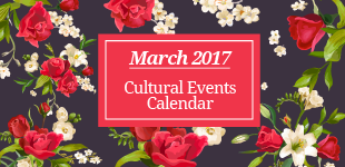 March 2017 Cultural Events Calendar