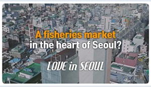 [Love in Seoul] Noryangjin Fisheries Wholesale Market