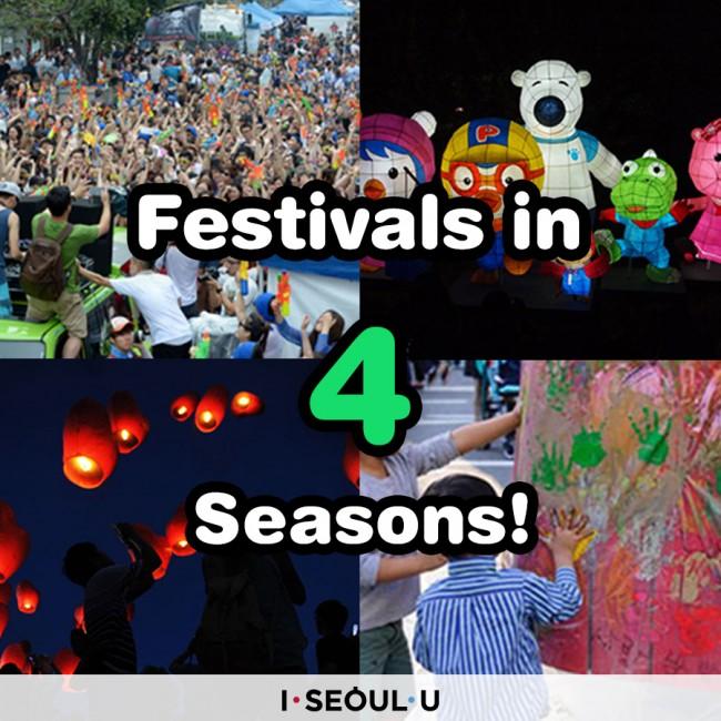 Festivals in 4 Seasons