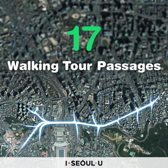 17 Walking Tour Passages