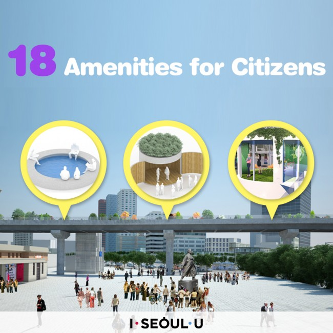 18 Amenities for Citizens
