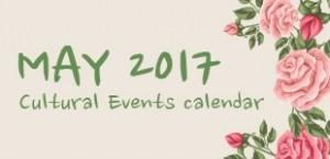 May 2017 Cultural Events
