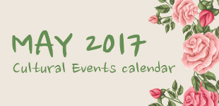 May 2017 Cultural Events