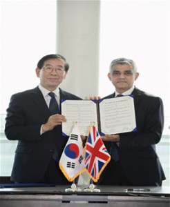Policy Exchange between Seoul and London
