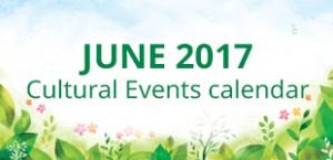 June 2017 Cultural Events