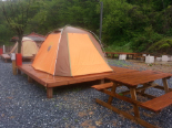 Tents for 4 to 5 people each (Jecheon)