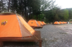 Tents for 4 to 5 people each