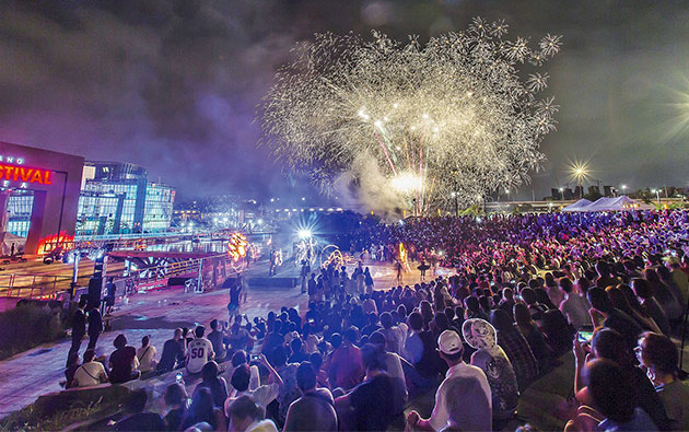 Summer Festival in Seoul from June to August