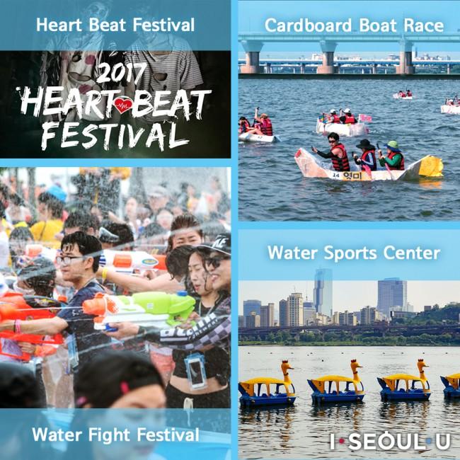Water Fight Festival Cardboard Boat Race Water Sports Center