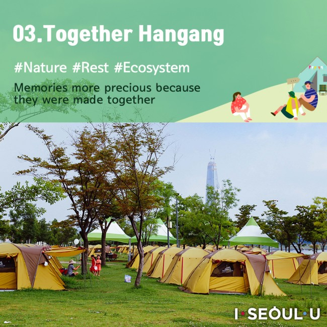 03. Together Hangang #Nature #With Family #Relaxation #Food Truck Memories more precious because they were made together