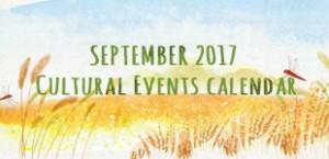 September 2017 Cultural Events