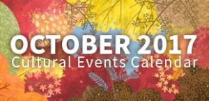 October 2017 Cultural Events