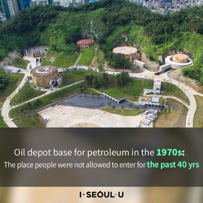Oil depot base for petroleum in the 1970s: The place people were not allowed to enter for the past 40 yrs