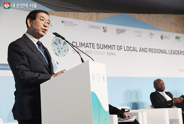Seoul Mayor Introduces Successful Climate Change Policies of Seoul