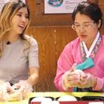 1st Challenge l Flower shaped Rice cake Making