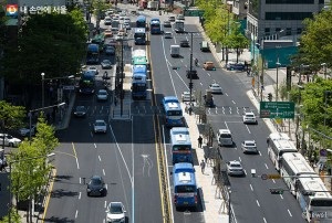 Seoul City to Open New Exclusive Median Bus Lane to the Public on Dec. 31