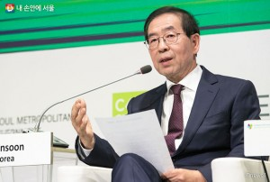 Mayor Won-soon Park Visits Paris, France to Attend Climate Change Summit