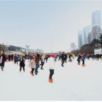 2017 Seoul Downtown Skating Rink & Sledding Slope Attraction
