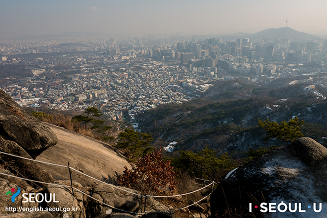 Seoul City Wall Course 4: Inwangsan Section
