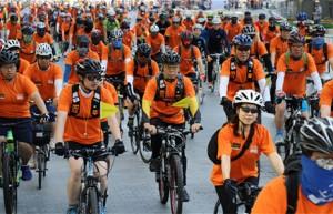 Opening of 2.6-km Bike Lane from Jongno 1-ga to 5-ga on April 8th