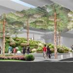 Space below Oksu Station Transforms into Underground Park Area