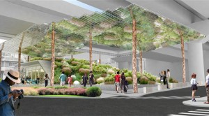 Space below Oksu Station Transforms into Underground Park Area