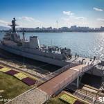 Seoul Battleship Park Open at Night