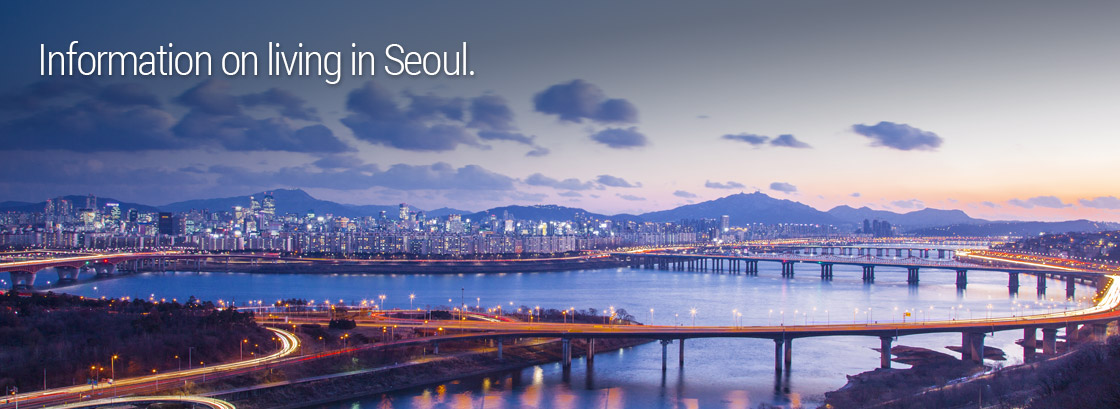 Information on living in Seoul.